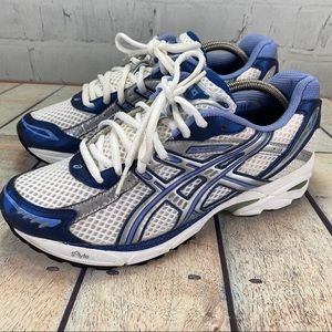 Asics GT-2120 Blue and White Sneakers